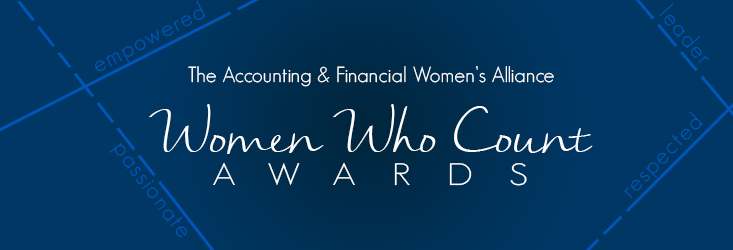 2017 AFWA Women Who Count Award Recipients